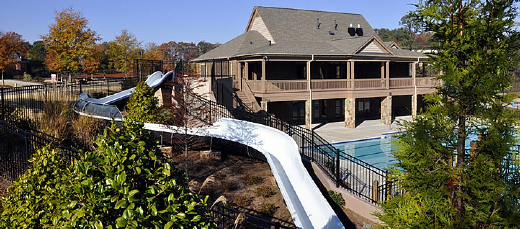 Overlook at Woodstock Knoll, Atlanta - Water Slide