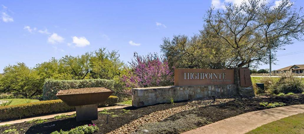 Highpointe 80s - Platinum Heights, Austin - Entrance
