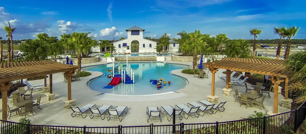 FishHawk Ranch Manor, Tampa - Central Park Pool