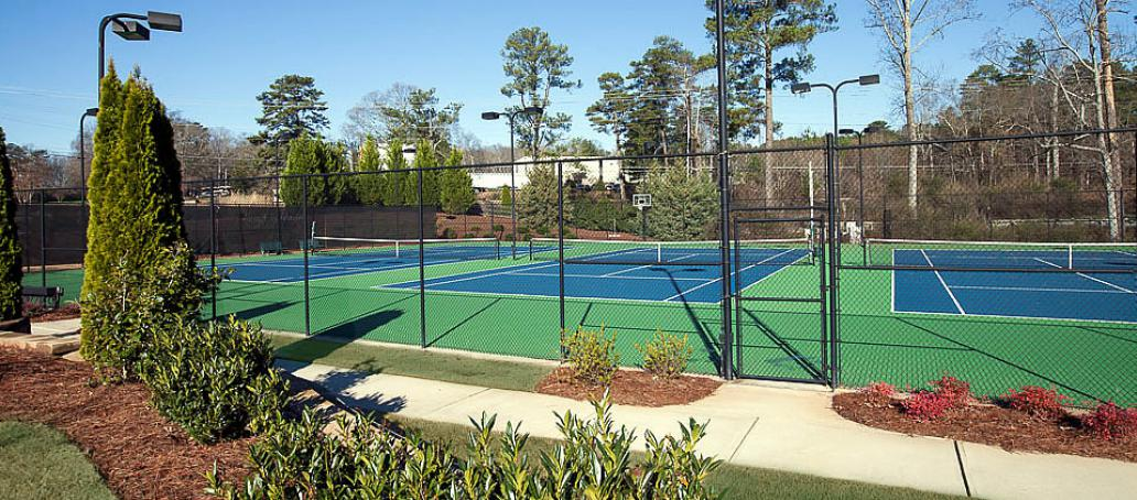 Overlook at Woodstock Knoll, Atlanta - Tennis Courts
