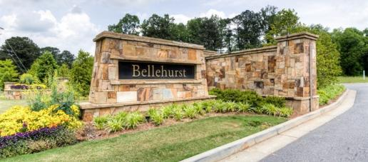 Bellehurst, Atlanta - Entrance Monument