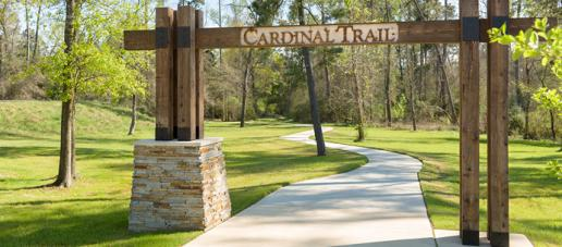 Northgrove, Houston - Walking Trails