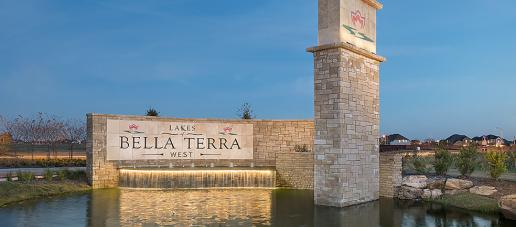 Lakes of Bella Terra West, Houston - Entry Monument