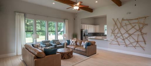 Kingwood, Houston - Clubhouse Living Room and Kitchen