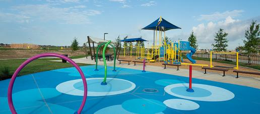 Lakes of Bella Terra West, Houston - Splashpad