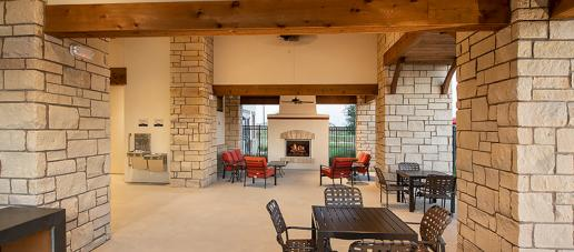 Lakes of Bella Terra West, Houston - Outdoor Lounge Area