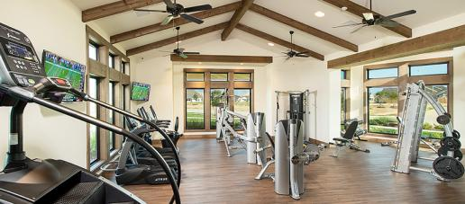 Lakes of Bella Terra West, Houston - Weight Room