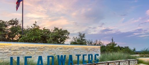 Headwaters, Austin - Community Entrance