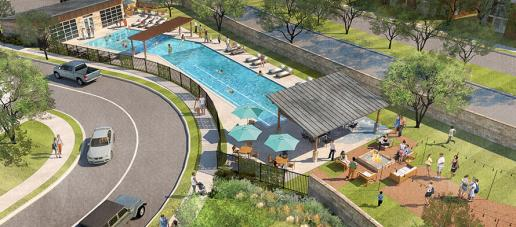 Legends Crossing - Townhomes, Dallas - Amenity Center