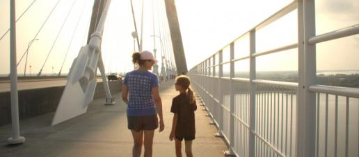 Meadow Run, Dallas - Pedestrian Bridge