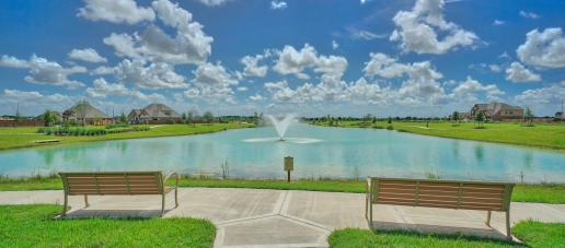 Creekside Ranch, Houston - Amenity Lake