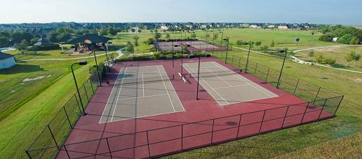 Firethorne 70ft, Houston - Tennis Court