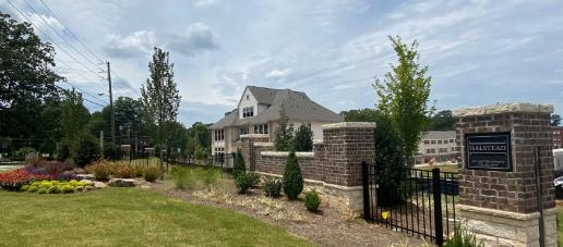 Halstead - Townhomes, Atlanta - GATED ENTRANCE