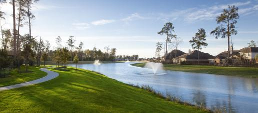 The Meadows at Imperial Oaks 70ft, Houston - Community Lake