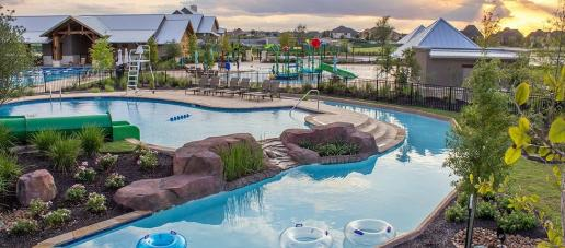 Lakeshore at Towne Lake, Houston - Pool & Lazy River