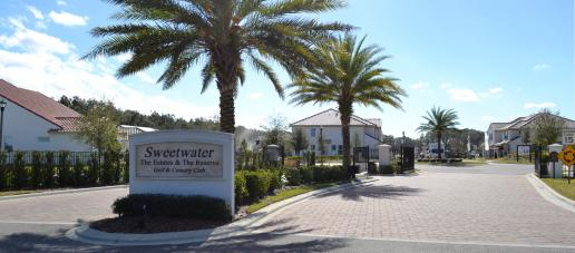 Estates at Sweetwater Country Club Townhomes, Orlando - Gated Community