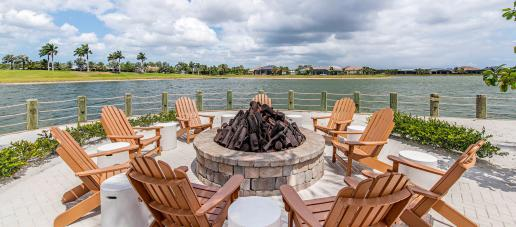 Naples Reserve, Naples - Lakeside Fire pit