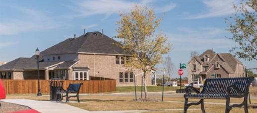 The Parks at Legacy, Dallas - Walking Trails
