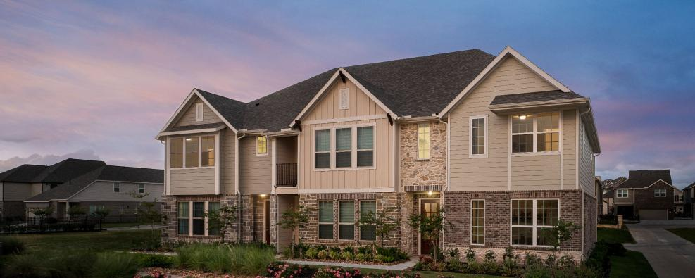 Lakeshore at Towne Lake Townhomes Masterplanned community Cypress Houston Texas