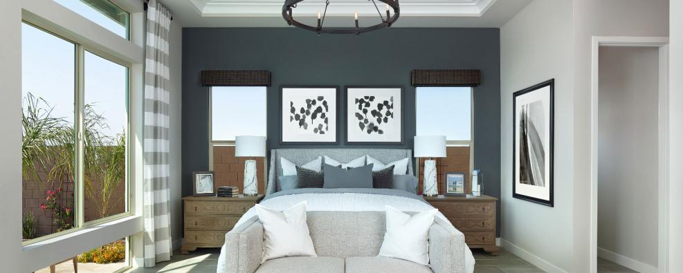 Graystone Daisy Plan Master Bedroom