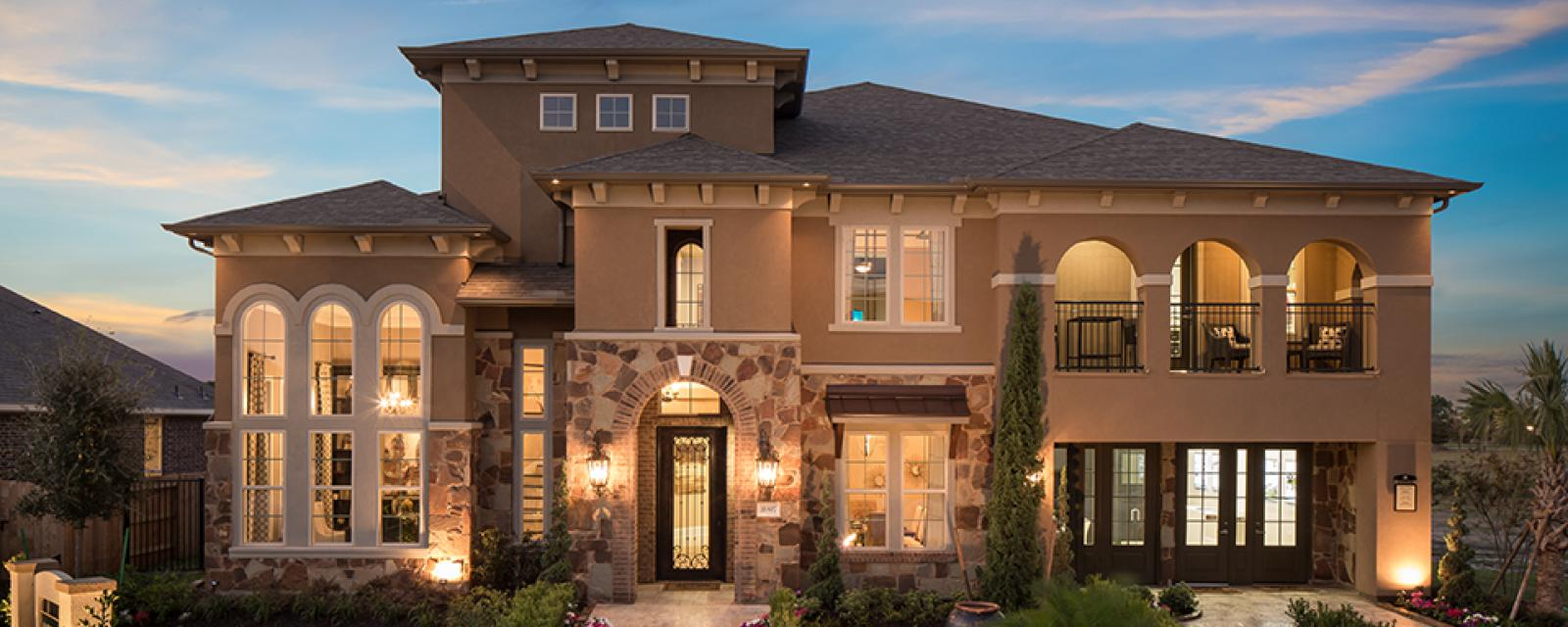 Bellagio New Home Plan For Hidden Lakes 80ft Community In