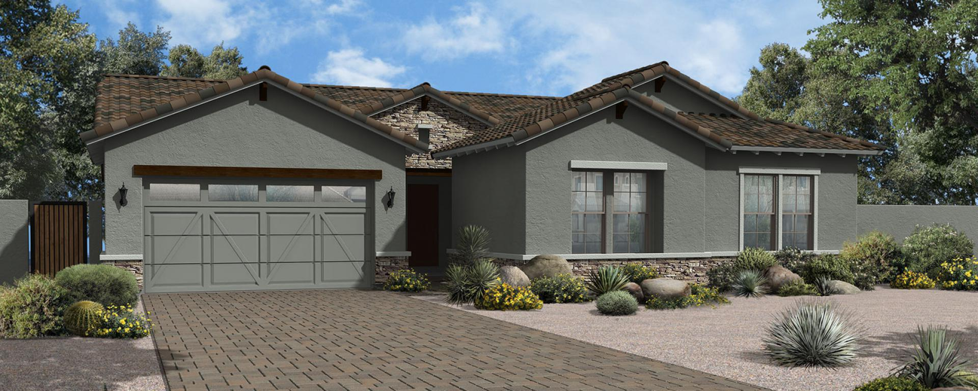 Yuma new home plan for legacy estates at morrison ranch for Ashton house