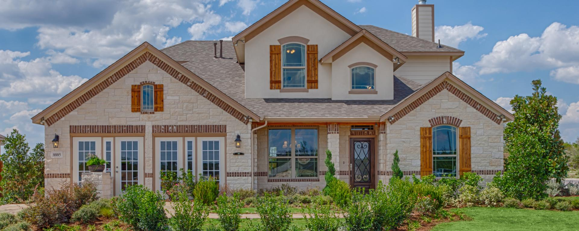 Nueces New Home Plan For The Estates At Mesa Oaks In