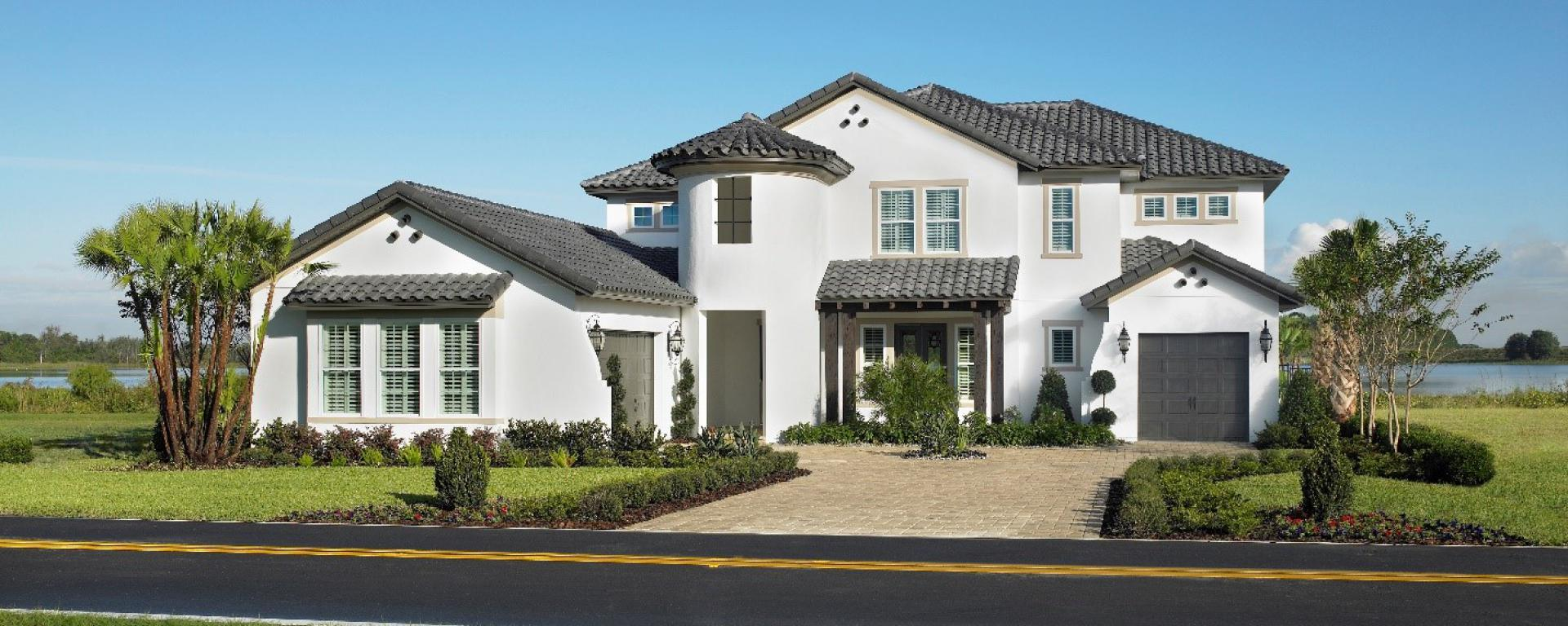 brighton new home plan for latham park estate community in orlando