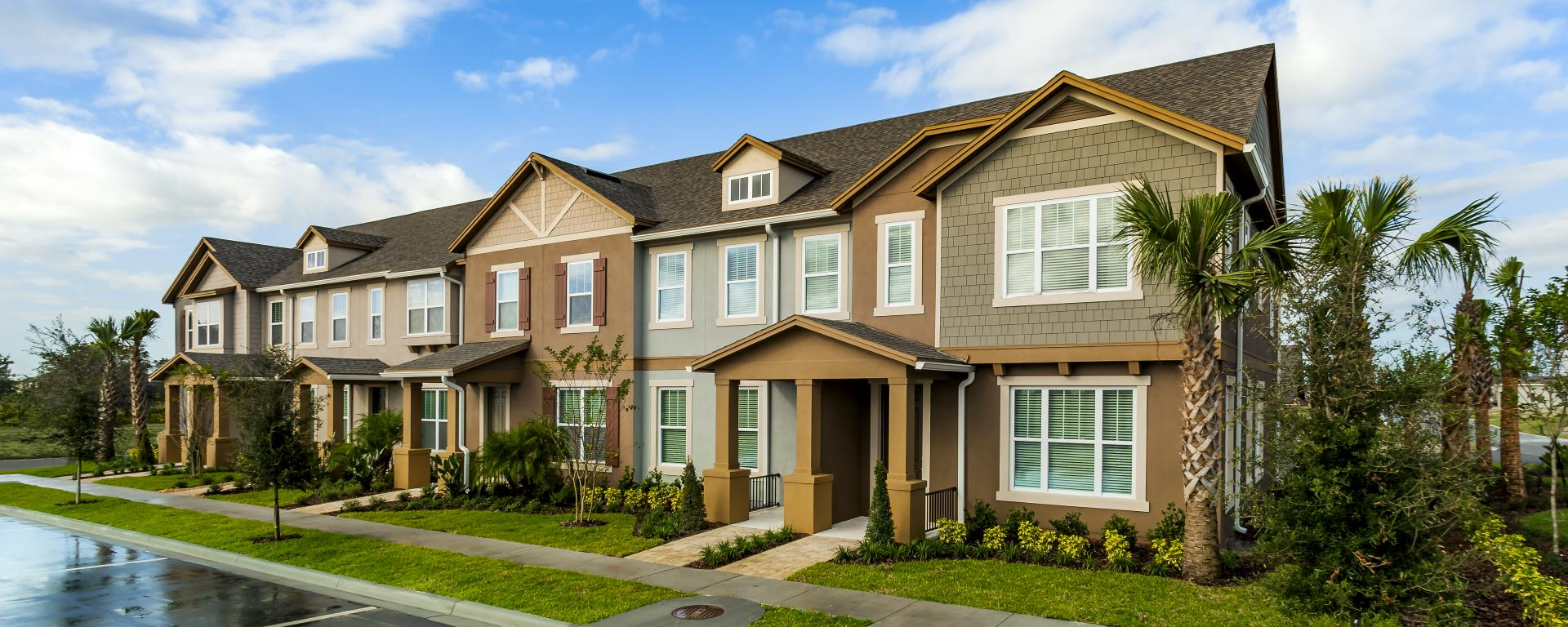 regina new home plan for hamlin reserve townhomes community in