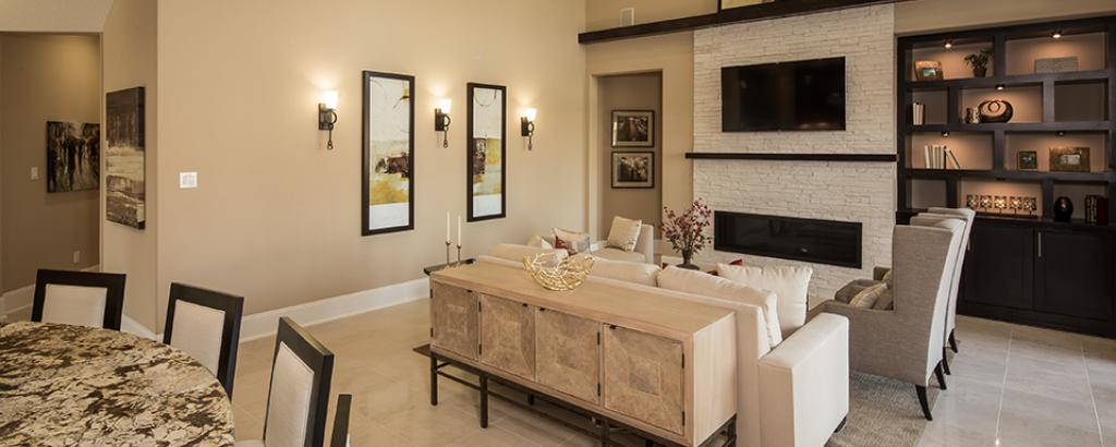 Bellagio, Pearland - living