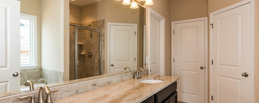 The Dillon at Kildaire Crossing, Cary - bathroom