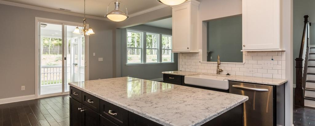 The Alexander at Kildaire Crossing, Cary - kitchen