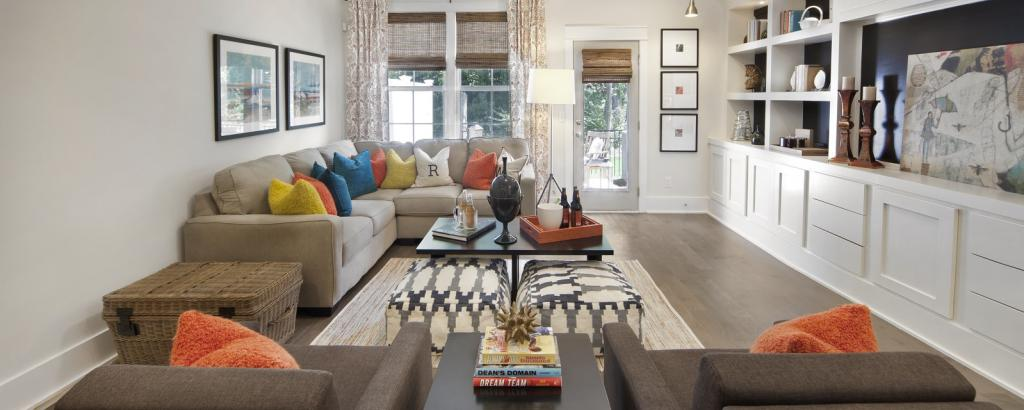 The Catherine at Townes at Cheswick, Raleigh - living