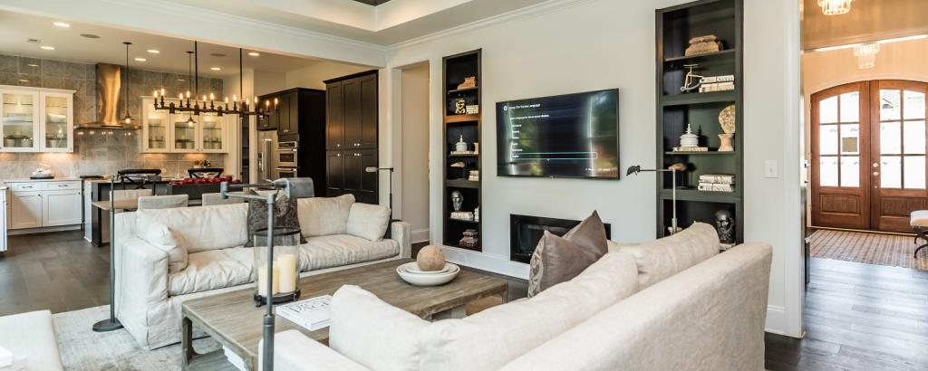 The Greenville at Pinebrook Hills, Raleigh - living