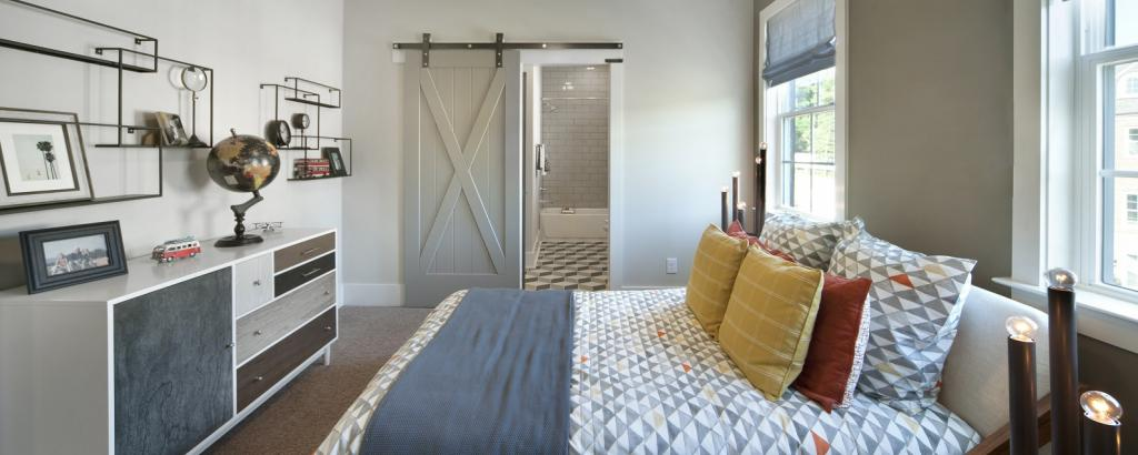 The Thornton at Townes at Cheswick, Raleigh - bedroom