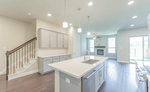 Princeton New Home Plan For University Place Townhomes In Dallas Ashton Woods