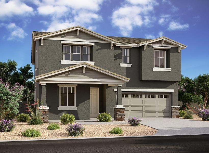 Oxford, Mesa - Elevation D