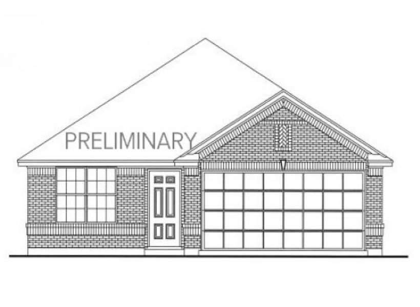 Archer, Cypress - Elevation A