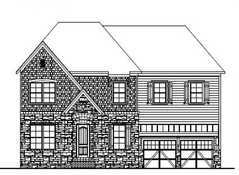 The Berkshire at Amberly, Cary - Elevation C