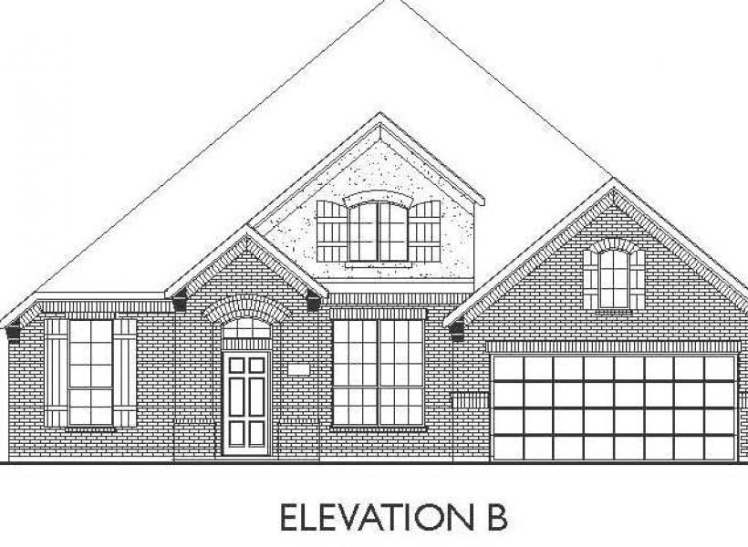 Burleson, Richmond - Elevation B