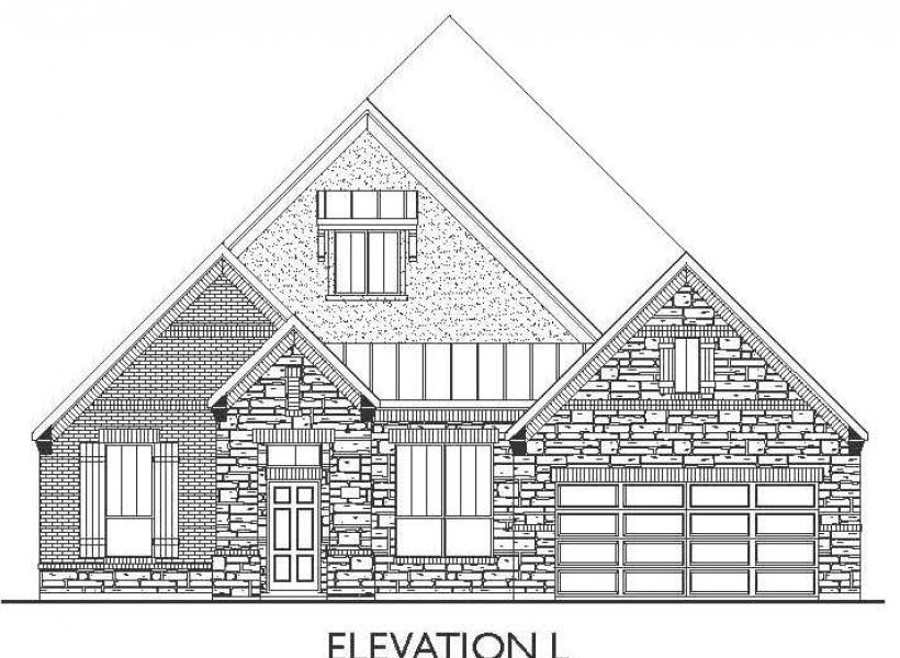 Burleson, Richmond - Elevation L