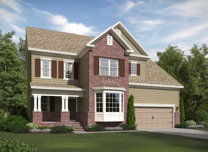 The Dillon at Kildaire Crossing, Cary - Elevation B
