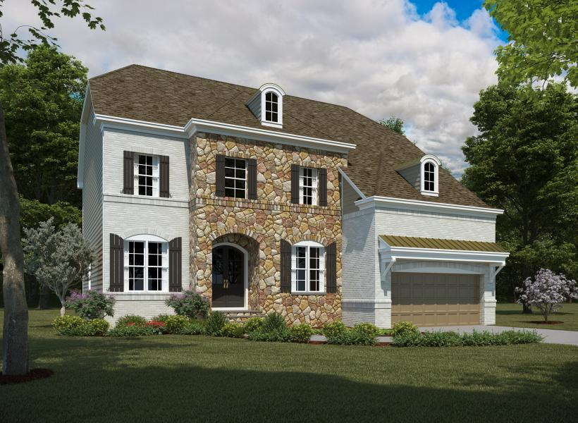 The Greenville, Raleigh - Elevation B