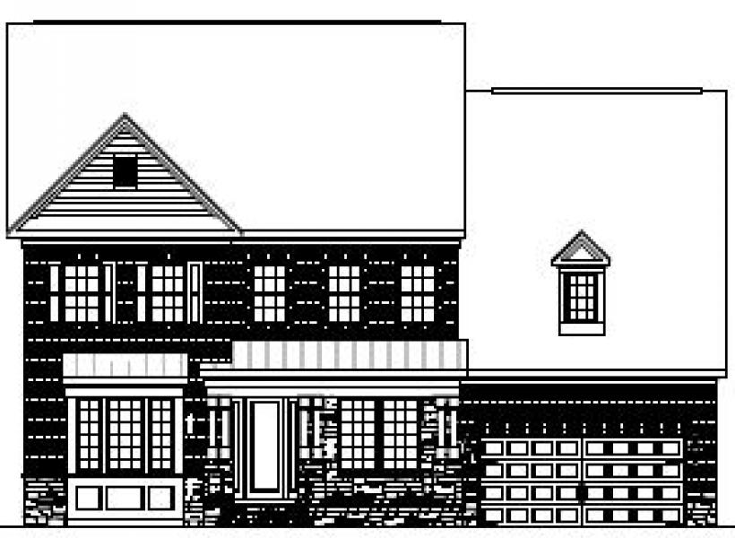 The Hanover at Pinebrook Hills, Raleigh - Elevation E