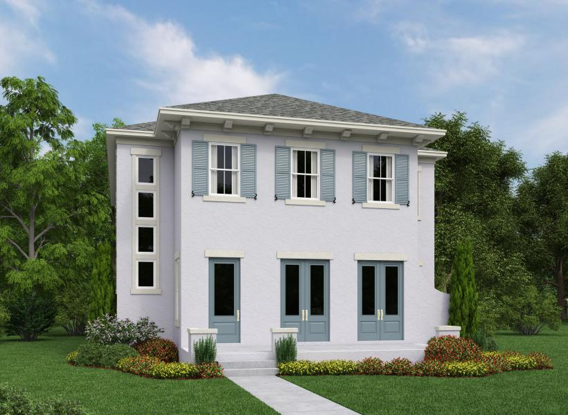 Kettering, Lake Nona - Elevation A