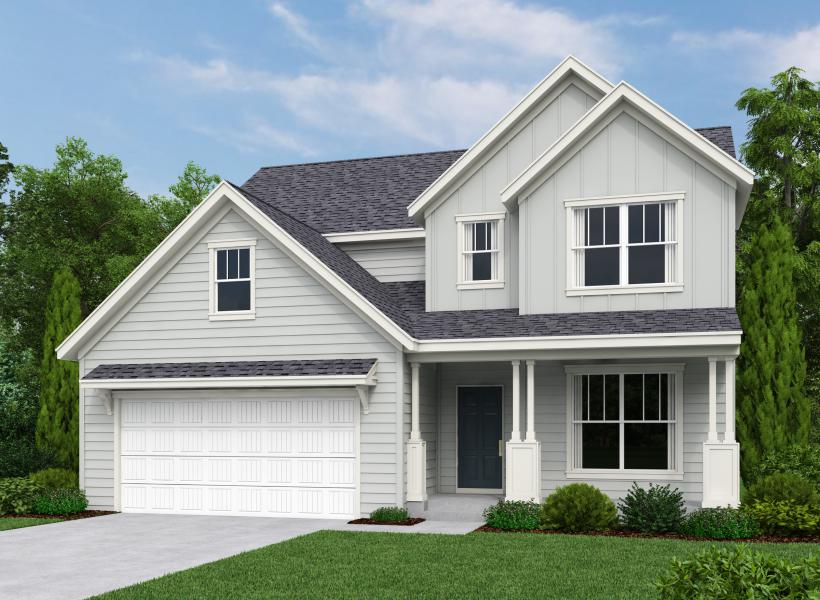 Lincoln, West Ashley - Elevation D