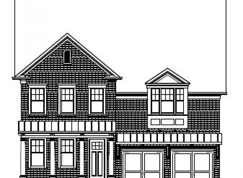 The Marlow at Amberly Manors, Cary - Elevation D