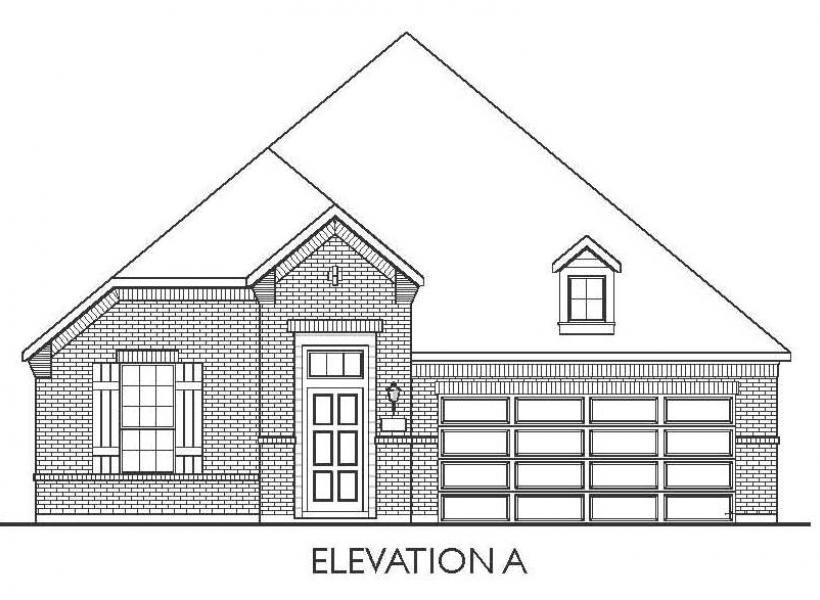 Milam, Cypress - Elevation A