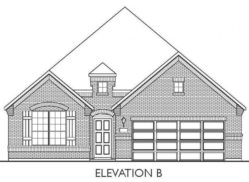 Milam, Pearland - Elevation B