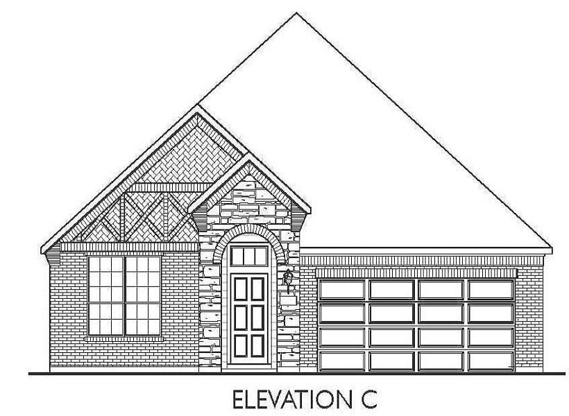 Milam, Pearland - Elevation C